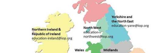 IOP support for teaching physics across UK & Ireland